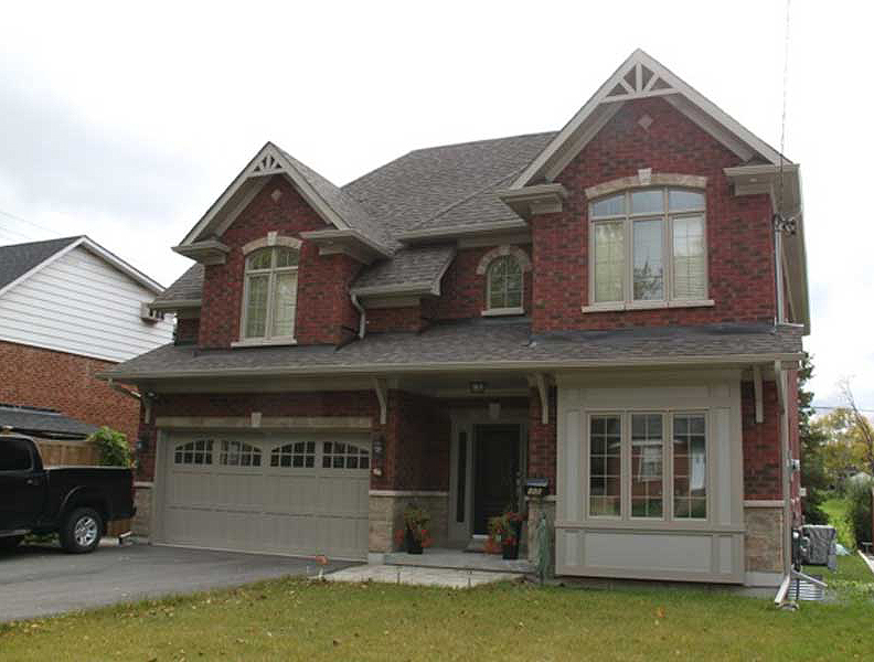 Exteriors custom home builder in toronto and the gta for Unique house exteriors